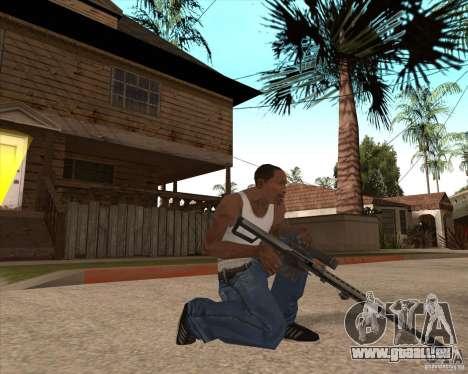 CoD:MW2 weapon pack pour GTA San Andreas onzième écran
