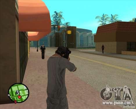 La carabine Ross pour GTA San Andreas troisième écran