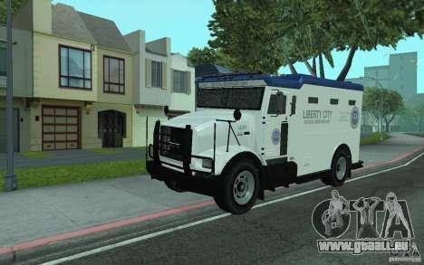 Securicar de GTA IV pour GTA San Andreas
