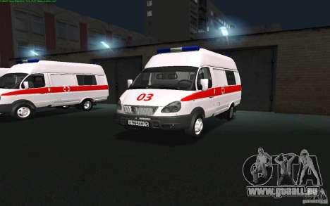 Gazelle 22172 Krankenwagen für GTA San Andreas