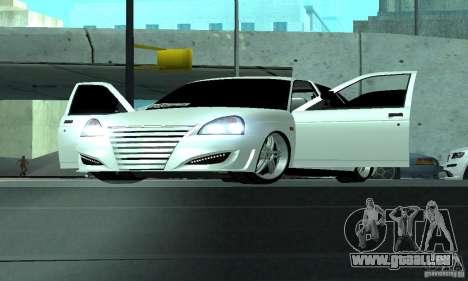 Lada Priora Sport pour GTA San Andreas vue arrière
