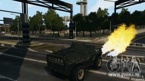 Tank Mod pour GTA 4 troisième écran