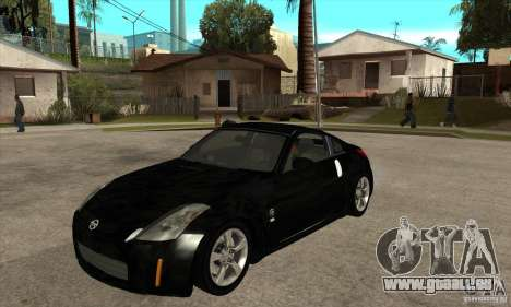 Nissan 350z Stock - Tunable für GTA San Andreas linke Ansicht