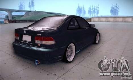Honda Civic 6Gen für GTA San Andreas rechten Ansicht