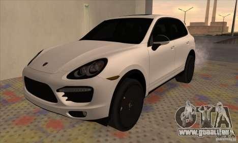 Porsche Cayenne Turbo Black Edition für GTA San Andreas