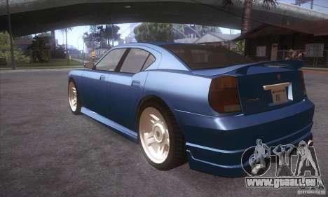 GTA IV Buffalo pour GTA San Andreas sur la vue arrière gauche