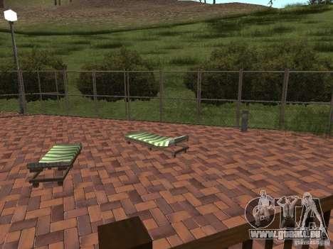 Villa neuve pour CJ pour GTA San Andreas sixième écran