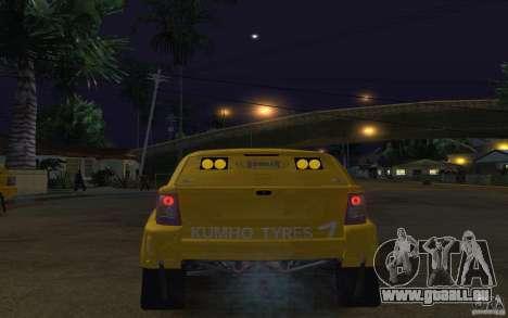 Bowler Nemesis pour GTA San Andreas sur la vue arrière gauche