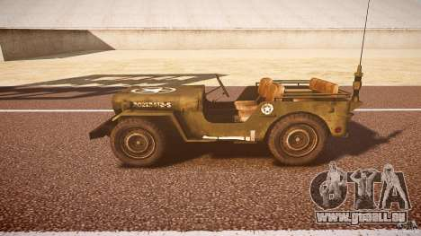 Walter Military (Willys MB 44) v1.0 pour GTA 4 est une gauche