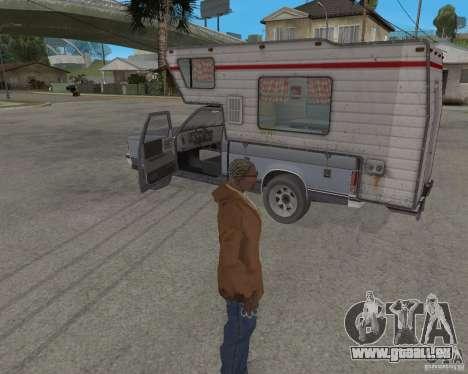 Chevrolet S-10 Kemper v2.0 pour GTA San Andreas vue arrière