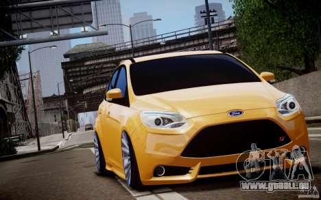 Ford Focus ST Mk.III 2013 pour GTA 4 est un côté