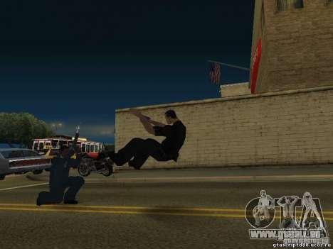 Die Wirkung der Schuss aus nächster Nähe für GTA San Andreas zweiten Screenshot