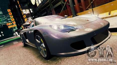 Porsche Carrera GT pour GTA 4 Vue arrière de la gauche
