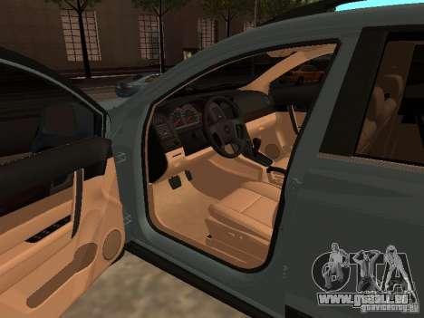 Chevrolet Captiva für GTA San Andreas zurück linke Ansicht
