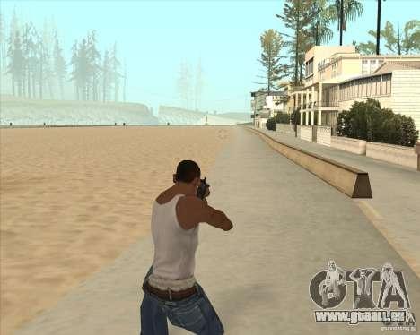AK-47 HD pour GTA San Andreas deuxième écran