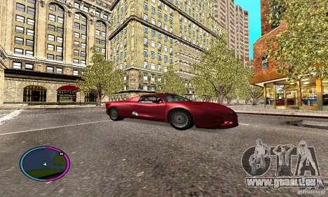 Axis Piranha Version II für GTA San Andreas Rückansicht