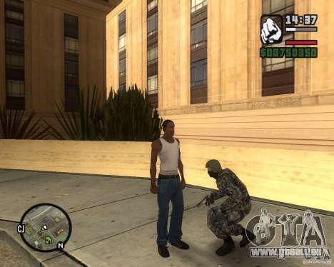 POLICE anti-émeute russe pour GTA San Andreas deuxième écran