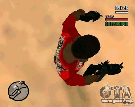 Black Ops Commando für GTA San Andreas dritten Screenshot