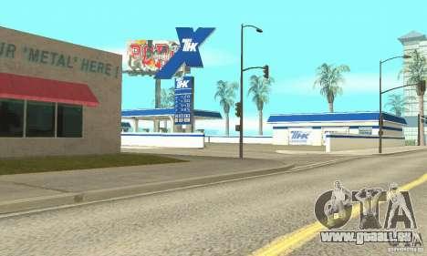 TNK-Tankstelle für GTA San Andreas