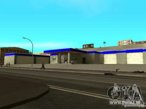Garage in San Fierro für GTA San Andreas zweiten Screenshot