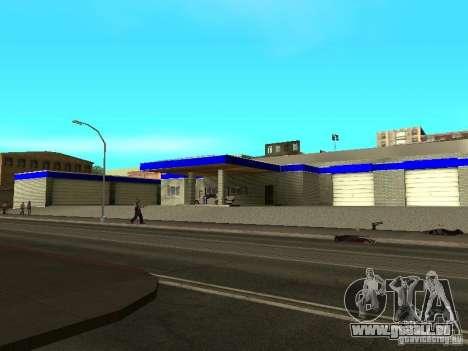 Garage à San Fierro pour GTA San Andreas deuxième écran