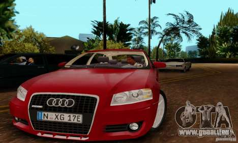 Audi A3 Sportback 3.2 Quattro für GTA San Andreas zurück linke Ansicht