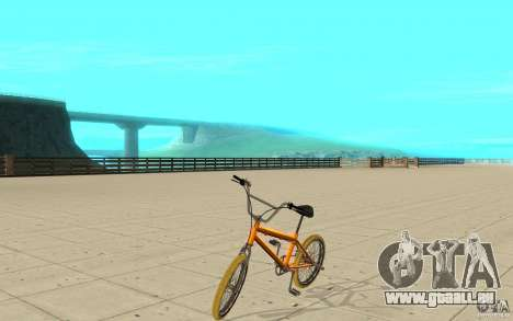 Zeros BMX YELLOW tires pour GTA San Andreas