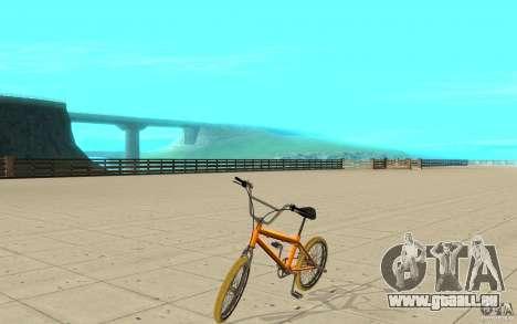 Zeros BMX YELLOW tires für GTA San Andreas