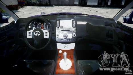 Infiniti FX45 2006 [Beta] pour GTA 4 est un droit