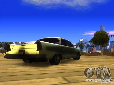 Glendale - Oceanic pour GTA San Andreas vue de droite