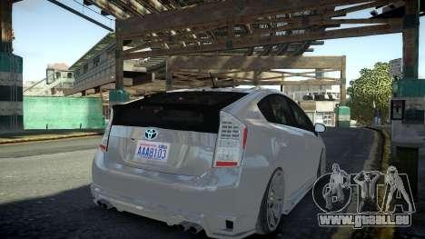 Toyota Prius III pour GTA 4 est une gauche