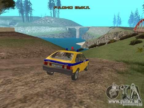 2141 AZLK GAI pour GTA San Andreas vue de côté