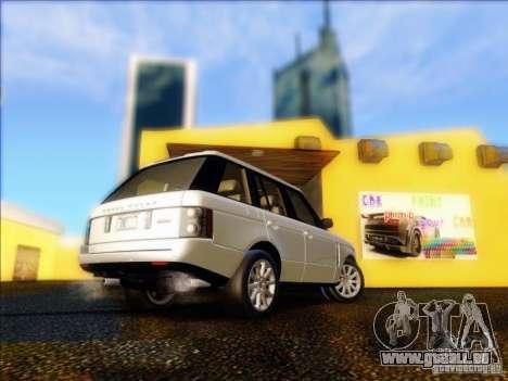 Land-Rover Range Rover Supercharged Series III pour GTA San Andreas vue de droite