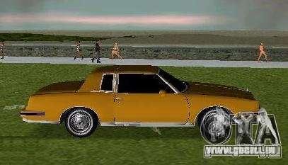 Pontiac Grand Prix für GTA Vice City linke Ansicht
