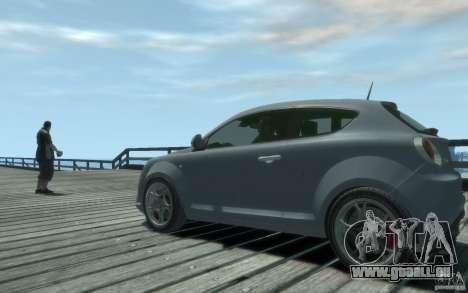 Alfa Romeo Mito pour GTA 4 Vue arrière de la gauche