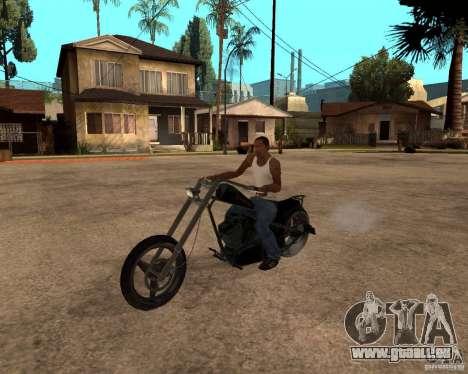 Diabolus Bike pour GTA San Andreas laissé vue