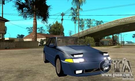 Volvo 480 Turbo für GTA San Andreas Rückansicht