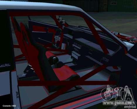 VAZ 2108 Drag pour GTA San Andreas vue intérieure