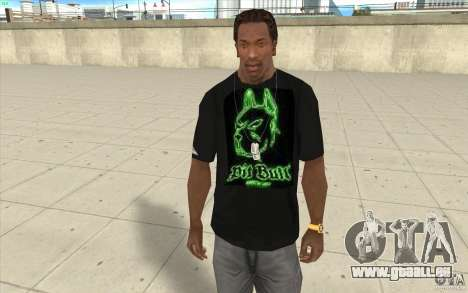 Pit bill t-shirt pour GTA San Andreas