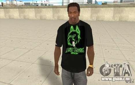 Grube bill T-shirt für GTA San Andreas