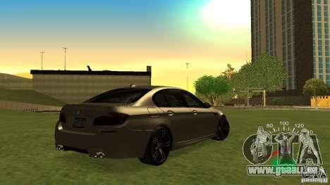 Indicateur de vitesse de Lada 2110 pour GTA San Andreas troisième écran