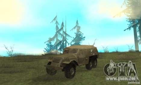 BTR-152 pour GTA San Andreas laissé vue