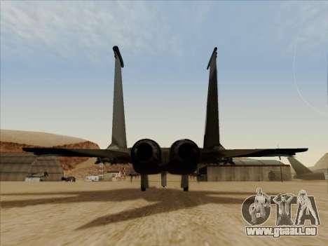F-15C für GTA San Andreas rechten Ansicht