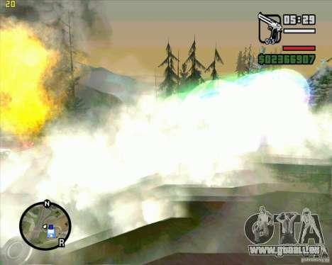 Masterspark pour GTA San Andreas troisième écran