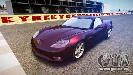 Chevrolet Corvette C6 Z06 pour GTA 4 Vue arrière