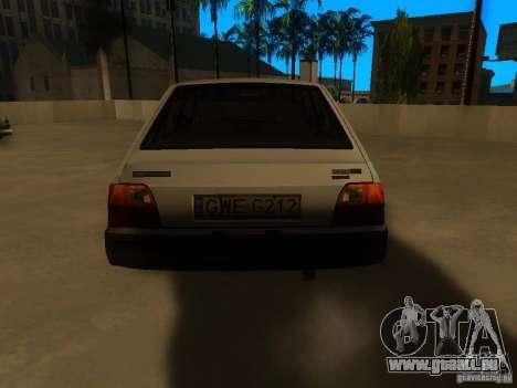 FSO Polonez Caro pour GTA San Andreas sur la vue arrière gauche