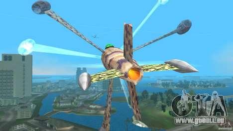 Conceptual Fighter Plane für GTA Vice City Innenansicht