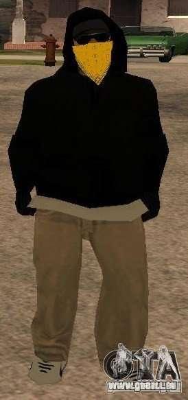 Nouveaux skins Gang de Vagos pour GTA San Andreas troisième écran