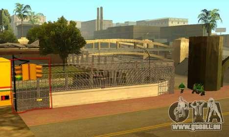 Zaun um den Groove-Sreet für GTA San Andreas dritten Screenshot