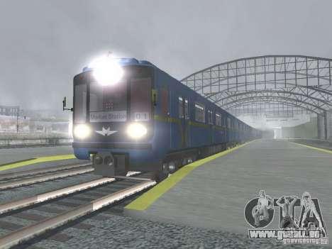 Tube type 81-717 pour GTA San Andreas sur la vue arrière gauche